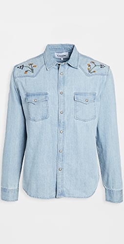 Corridor - Embroidered Western Shirt