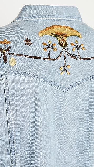 Corridor Embroidered Western Shirt
