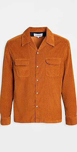 Corridor - Pincord Snap Button Workshirt