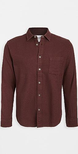 Corridor - Natural Slub Twill Shirt