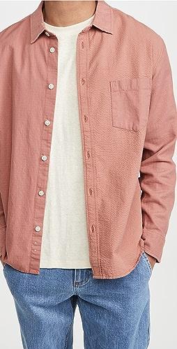 Corridor - Paneled Dusty Rose Shirt