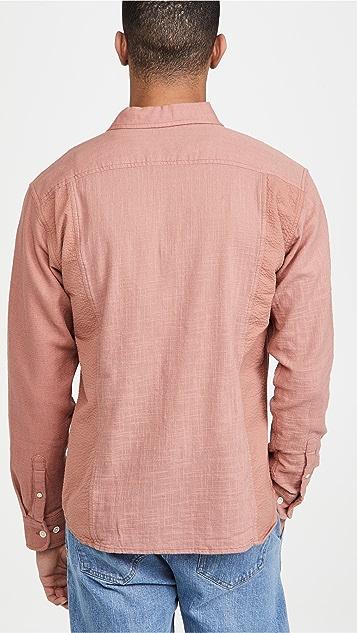 Corridor Paneled Dusty Rose Shirt