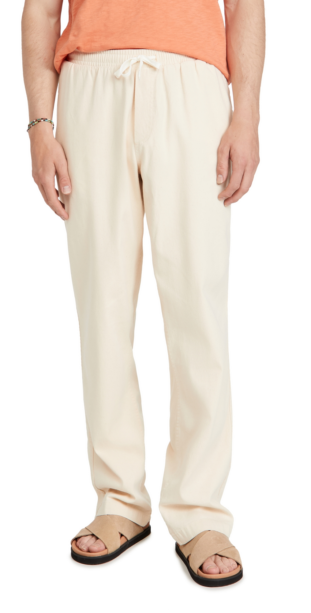 Cotton Seed Drawstring Pants