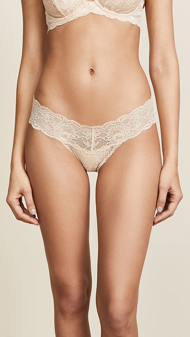 SALE LAST ONE Cosabella Never Say Never Cutie LR Thong in Marigold O//S