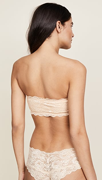 Cosabella Never Say Never Padded Flirtie Bandeau Bra