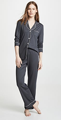 Cosabella - Bella Long Sleeve Top & Pant PJ Set