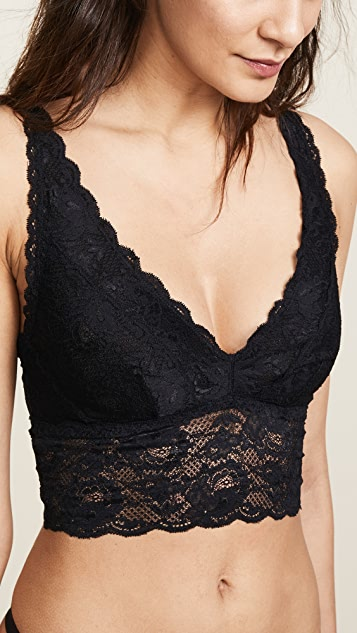 Cosabella Never Say Never Plungie Longline Bralette