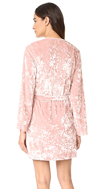 Robe cocktail luxe