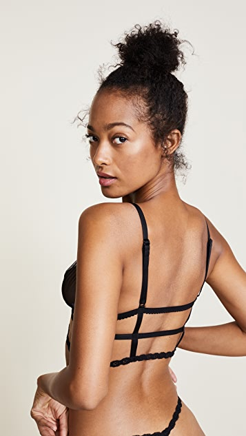 Cosabella Strappy Bralette and G-string Set