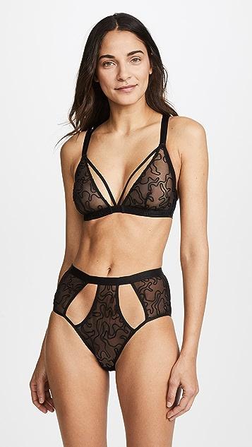 Cosabella Amelie High Waisted Bikini Briefs