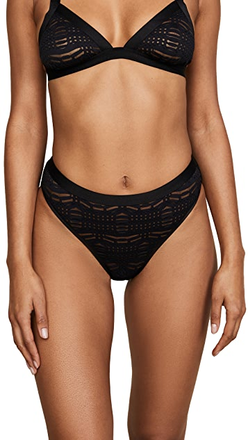 Cosabella Bisou High Leg Bikini Panties