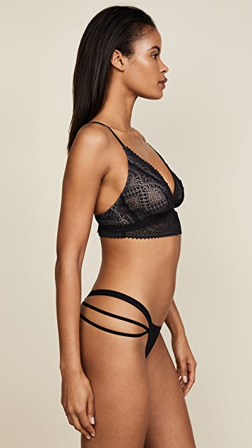 Cosabella Bisou Tall Triangle Bralette