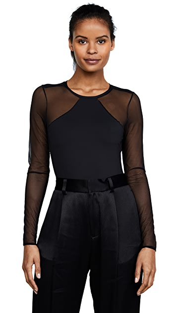 Cosabella Bisou Move Long Sleeve Bodysuit