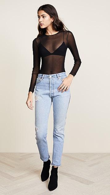 Cosabella Soire High Leg Bodysuit