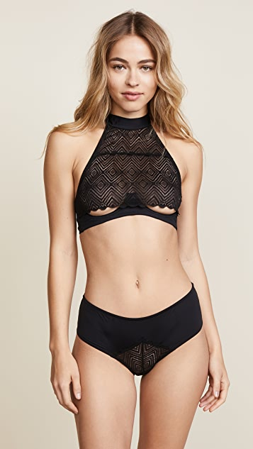 Cosabella Bisou Naughty Open Back Hot Pants