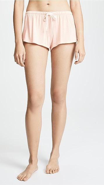 Cosabella Bella Short Sleeve Top & Boxer PJ Set