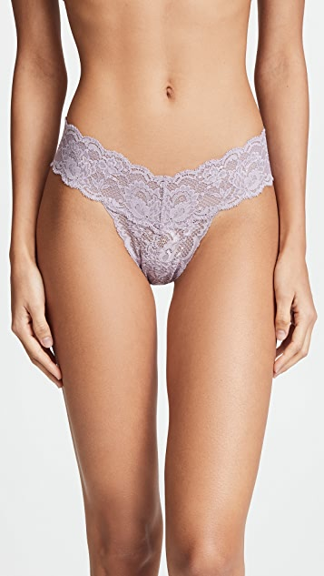 Cosabella Never Say Never Cutie Low Rise Thongs 5 Pack