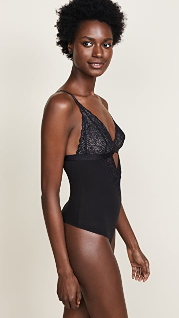Cosabella Infinity Sweet Treats Deep V Bodysuit