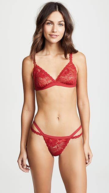 Cosabella Never Say Never Dreamie Triangle Bralette