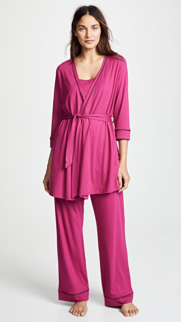 Cosabella Bella Maternity 3 Piece PJ Set