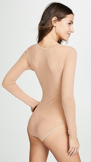 Cosabella Soiré Confidence Long Sleeve Bodysuit