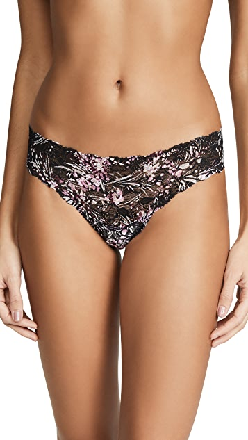 Cosabella Pixie Printed Low Rider Thong
