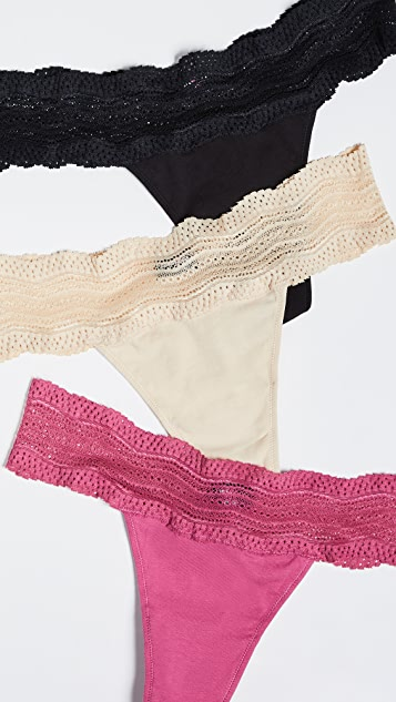 Cosabella Dolce Thong 3 Pack