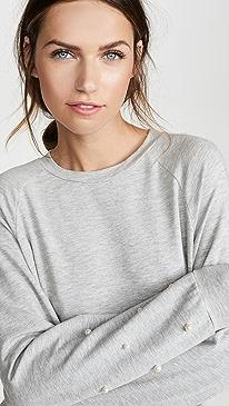 Daria Pearl Long Sleeve Top