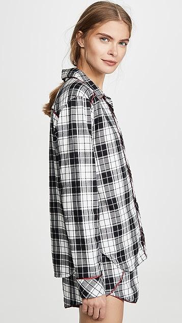 Cosabella Sienna 梭织睡衣套装