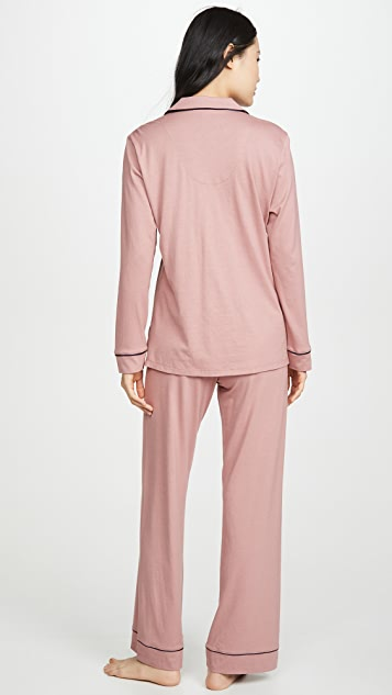 Cosabella Bella 皮玛上衣和长裤睡衣套装