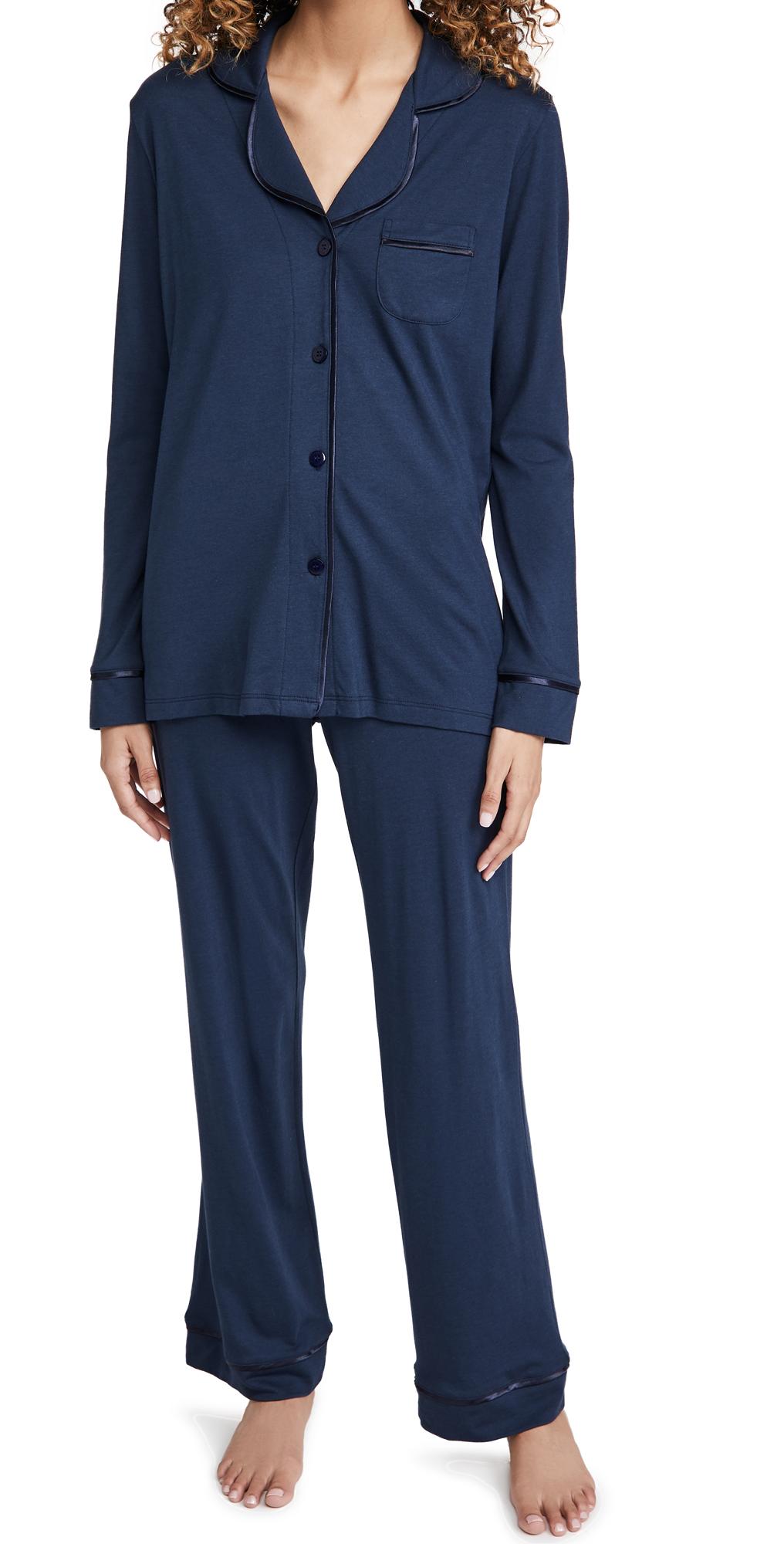 Cosabella Bella Pima Long Sleeve Top & Pant PJ Set