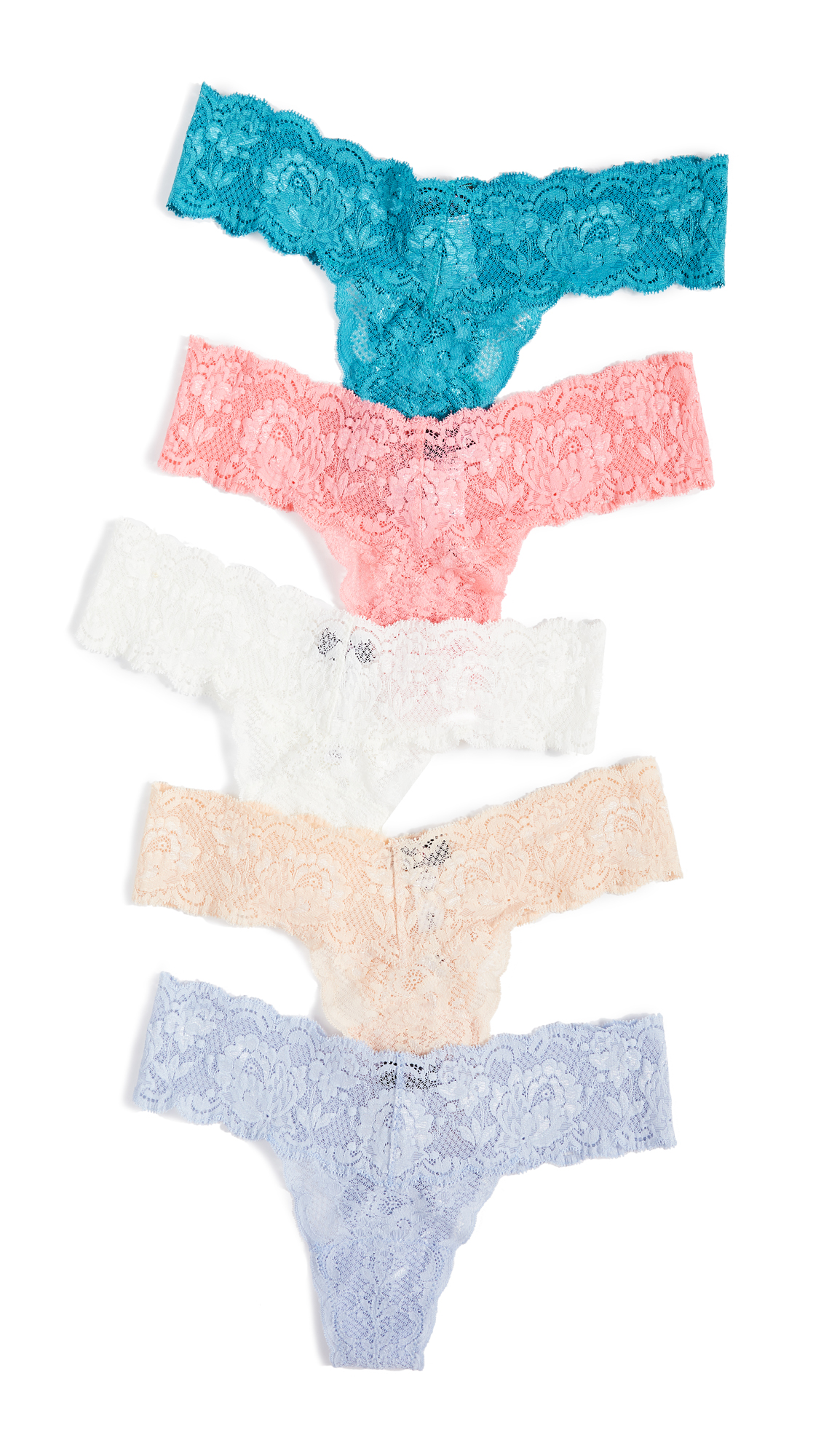 Cosabella Cutie 5 Pack Thong