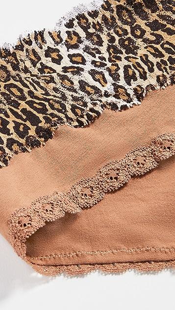 Cosabella 孕妇装热裤 3 条装