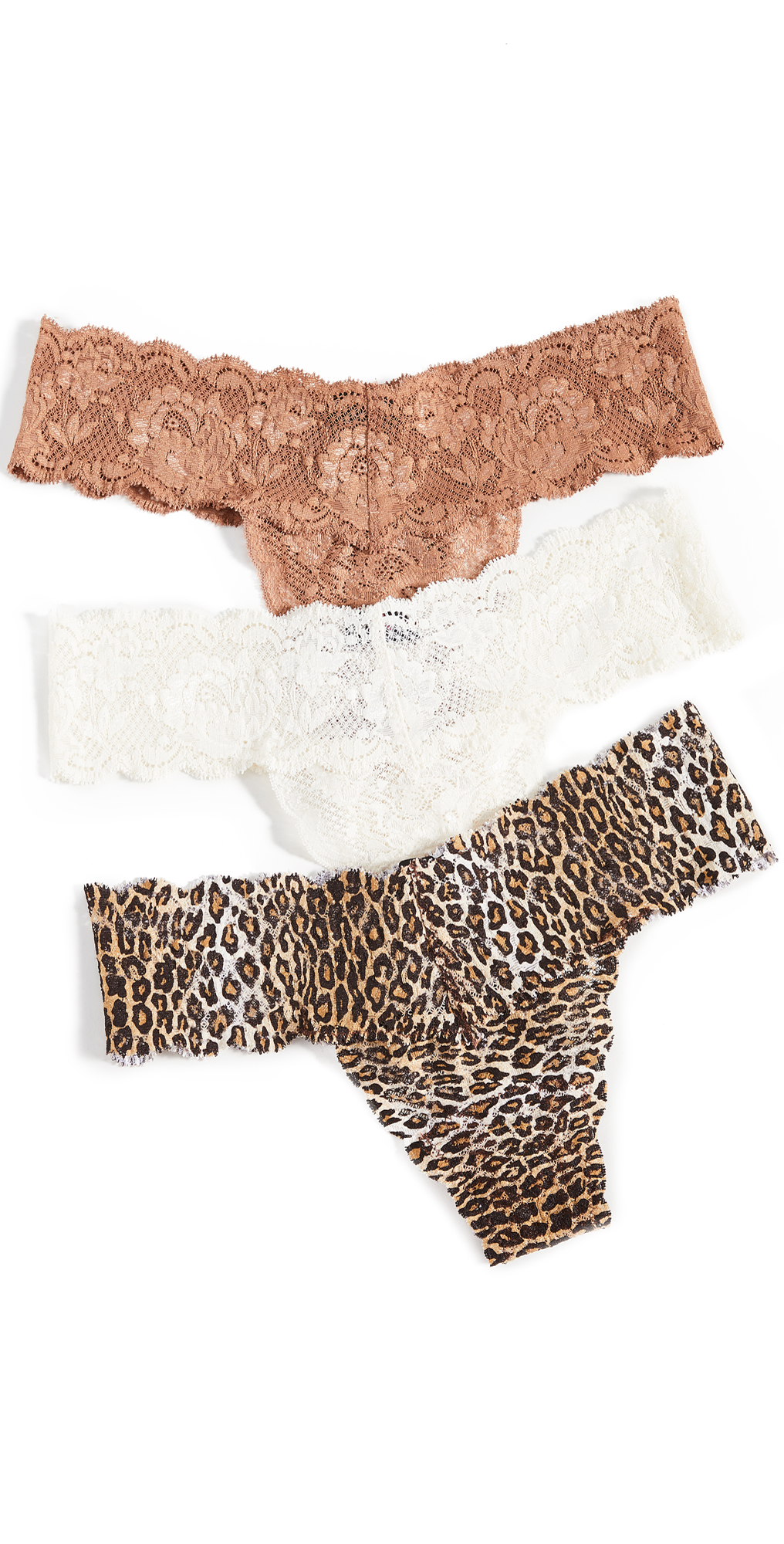 Cosabella Cutie 3 Pack Low Rise Thong