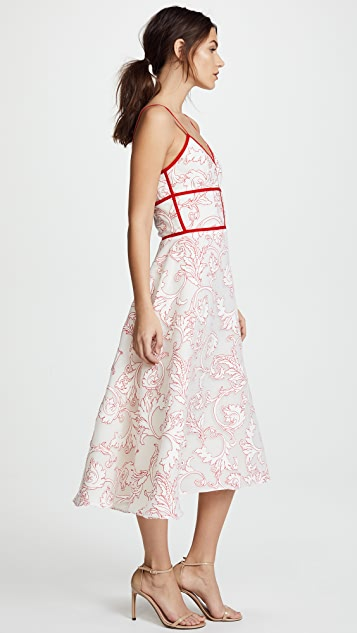 Costarellos Romantic Dress with Straps