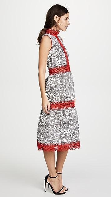 Costarellos Sleeveless Dress