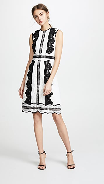 Costarellos Sleeveless Sheath Dress