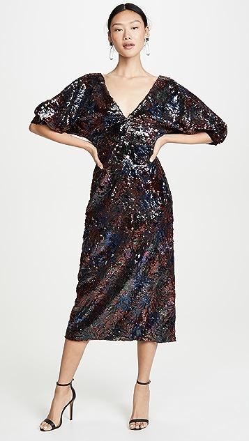 Costarellos Платье с блестками