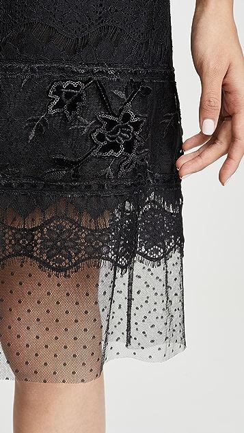 Costarellos Off Shoulder Sheath Dress