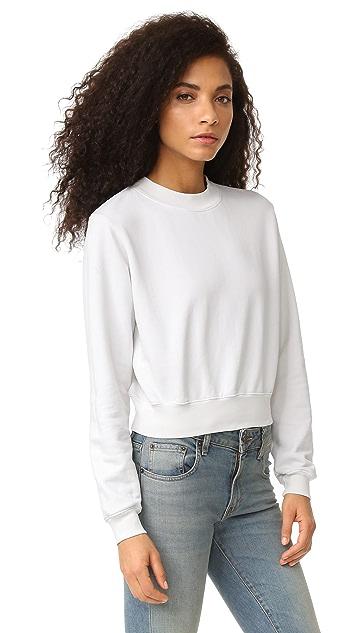 Cotton Citizen The Milan Cropped Sweatshirt