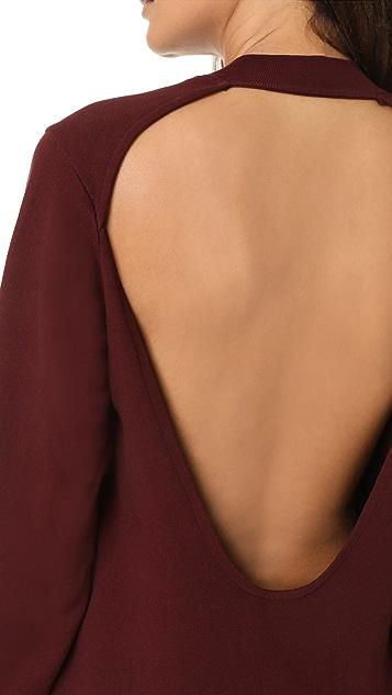 Cotton Citizen The Milan Backless Mini Dress