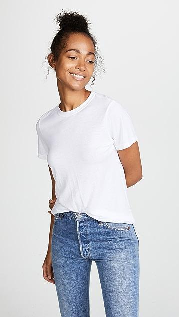 Cotton Citizen Классическая футболка с округлым вырезом