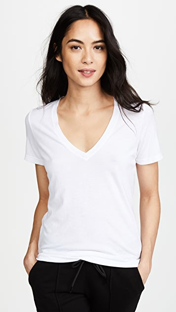 Cotton Citizen Classic V Neck Tee