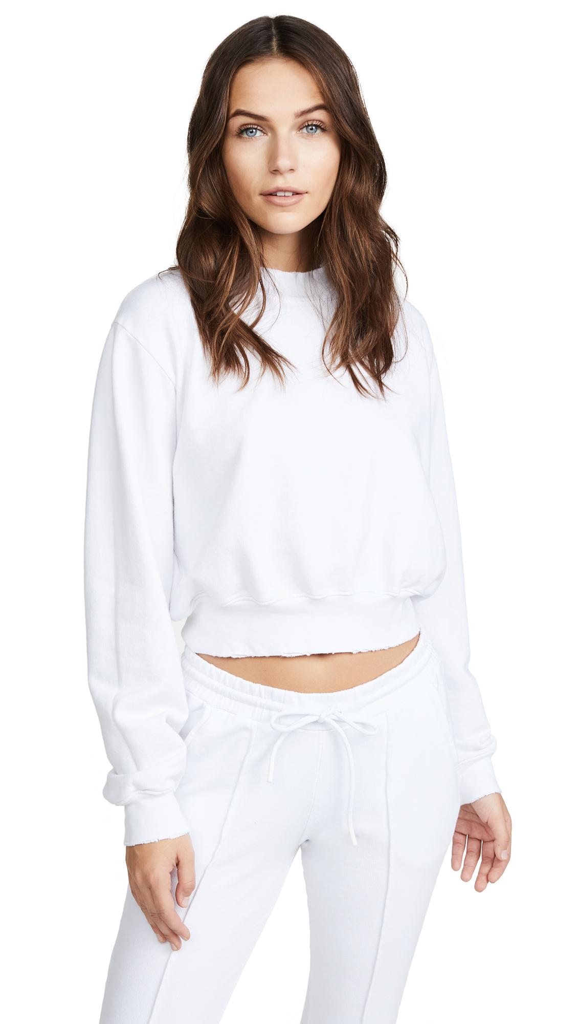Cotton Citizen Milan Cropped Sweatshirt