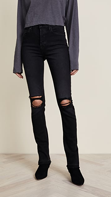 Cotton Citizen High Rise Skinny Jeans - Washed Black