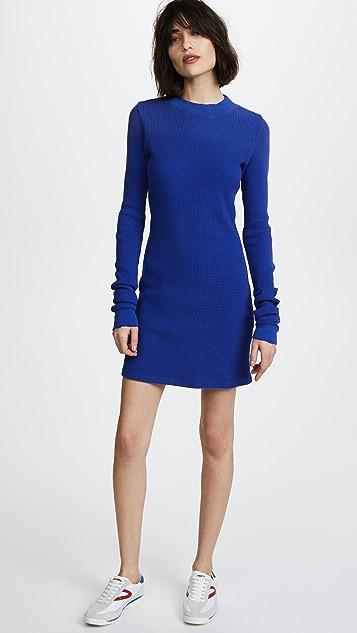 Cotton Citizen The Monaco Long Sleeve Mini Dress