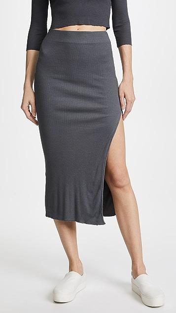 Cotton Citizen The Melbourne Midi Skirt