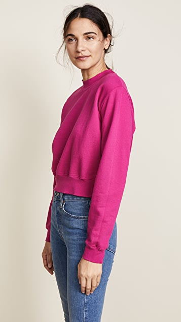 Cotton Citizen The Milan Cropped Sweatshirt