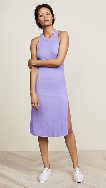 Cotton Citizen The Melbourne Tank Dress - Pastel Purple