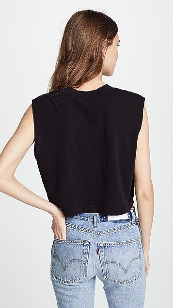 Cotton Citizen Укороченная футболка без рукавов Tokyo